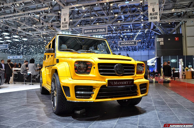 mercedes g mansory gronos body kit