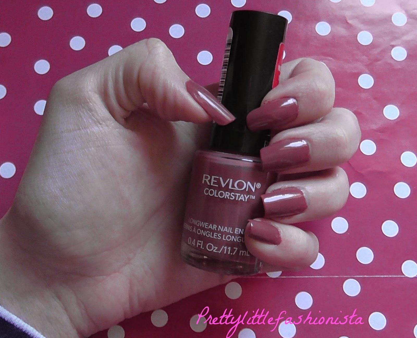 NOTD:  Revlon Vintage Rose