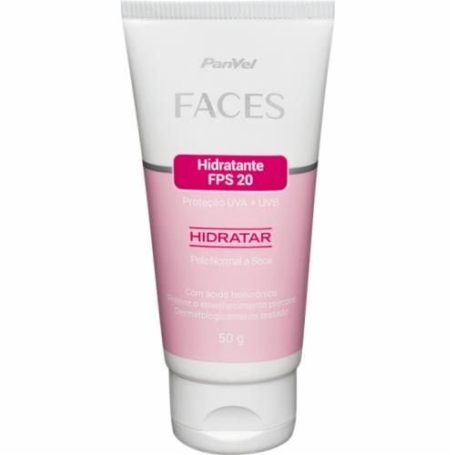 Hidratante Fps20 Panvel Faces Pele Normal A Seca 50g