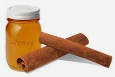 gambar madu dan kayu manis