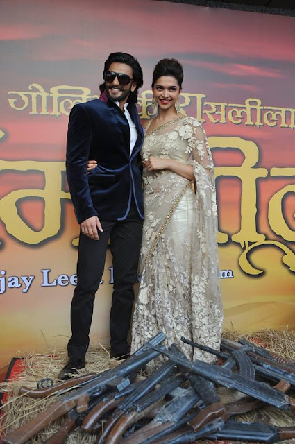 The colours, the passion, the Deepika: Amitabh Bachchan Twitted for Ramleela trailer