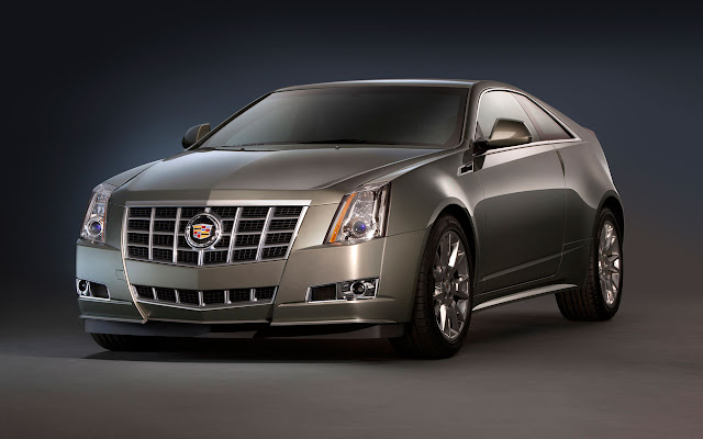 Cadillac CTS Coupe front