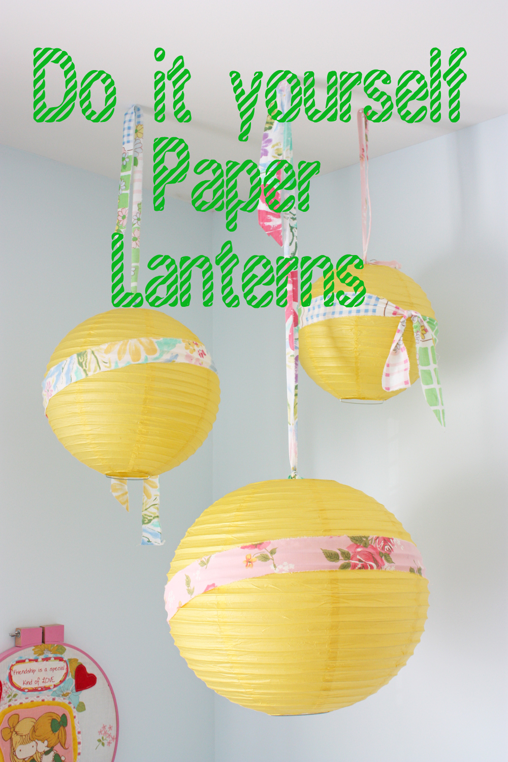fresh and fun do it yourself paper lanterns
