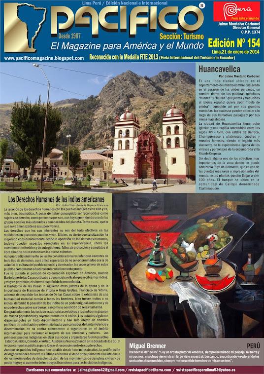 Revista Pacífico Nº 154 Turismo