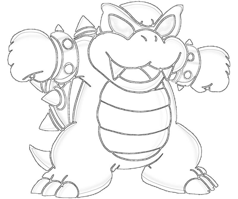 Free Coloring Pages Of Iggy Koopa Koopa Coloring Pages
