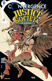 Cover of Convergence: Justice Society of America #1 from DC Comics