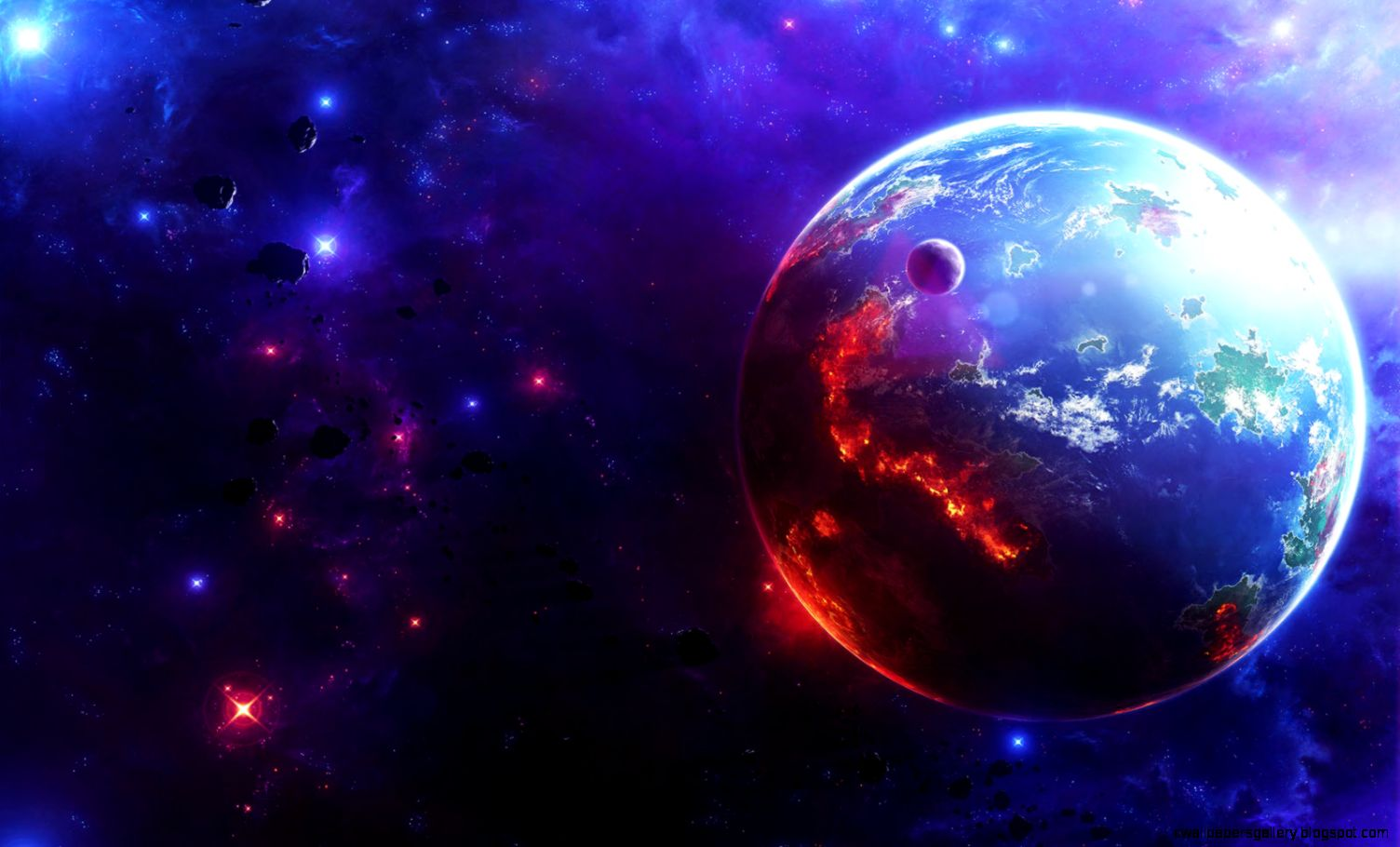 38 Planet Images and Wallpapers for Mac PC  SHunVMall Graphics