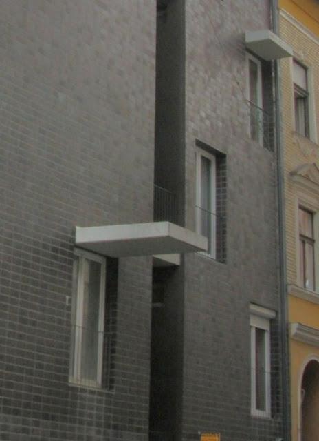 Kis Péter Építészműterme: Szociális bérház a budapesti Práter utcában