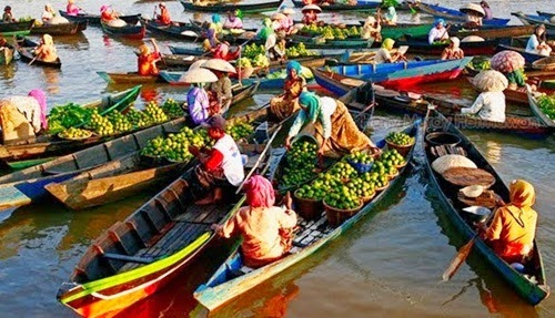 Kuin Floating Market Banjarmasin