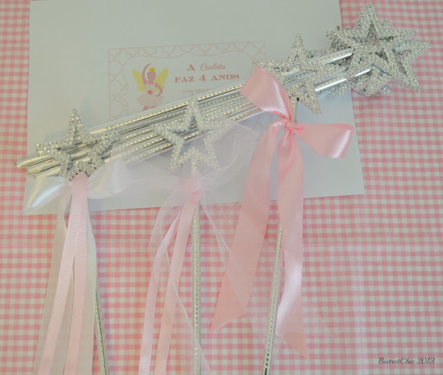 Personalised Fairy Ballerina magic wand from BistrotChic