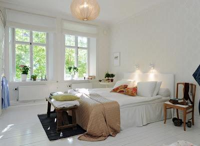 habitación escandinava