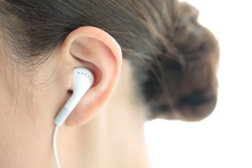Studies have shown that listening to loud music over ear buds can be harmful for the ears.