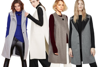 Tendencias de este otoño: abrigos sin mangas