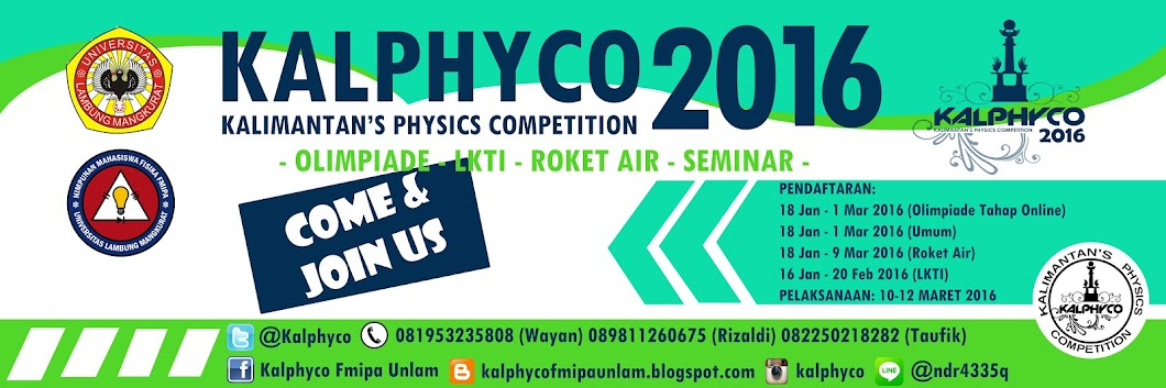 Kalimantan's Physics Competition 2016
