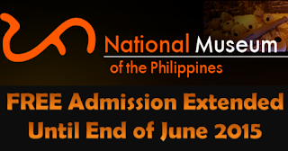 Free admission, National Museum, June 2015