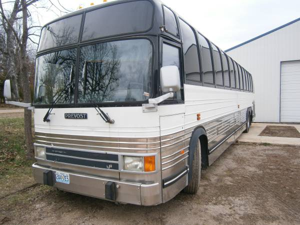 Used rvs 1998 prevost bus conversion ready for sale by owner for Prevost motor coach sales