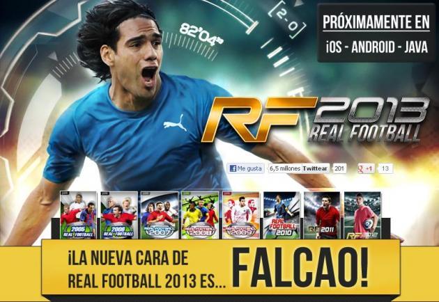 Falcao García es la imagen del Real Football 2013