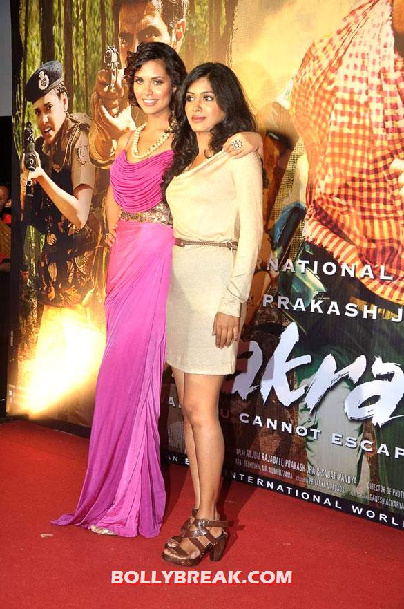 , Esha Gupta, Anjali Patil At First Look Launch Of 'chakravyuh'
