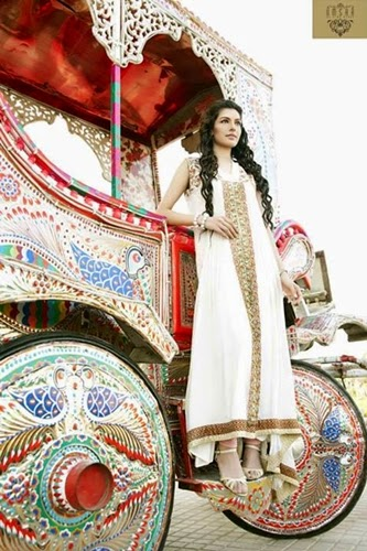 Umsha Party Wear Dresses 2014
