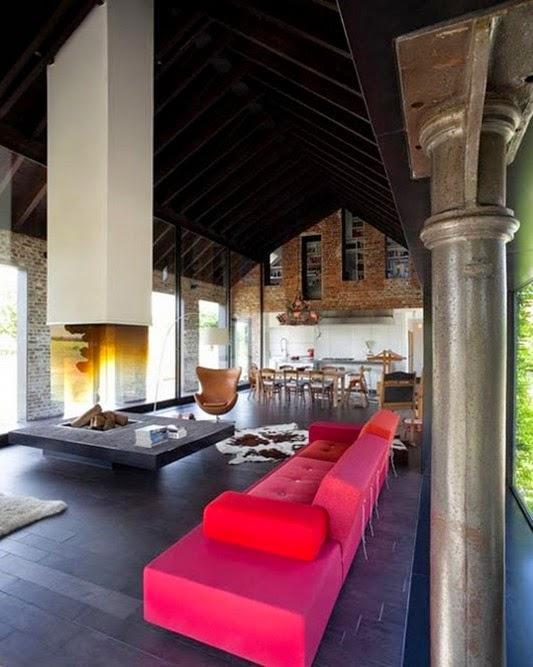 cozinha clássica neo com Idéias de decoração moderna sala de estar