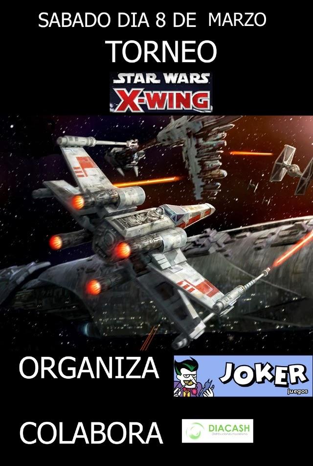 http://juegos.libreriasjoker.com/2014/02/torneo-de-xwing-8-de-marzo.html