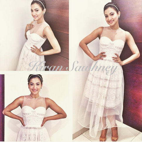 Gauahar Khan at Times Food Awards in Neha Taneja