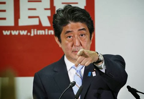 Thủ tướng Nhật Shinzo Abe.