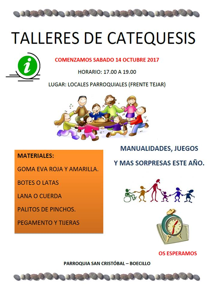 Talleres Catequesis