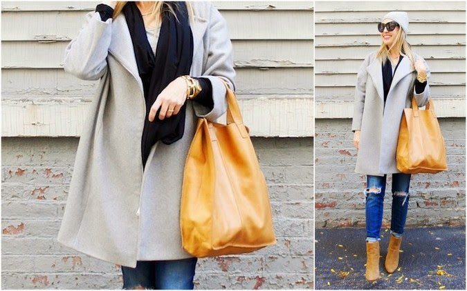 DKNY coat, Zappos shipping, boston fashion blog