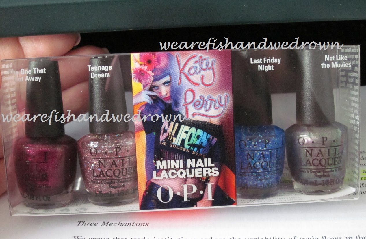 We are Fish: OPI Teenage Dream from Katy Perry Collection