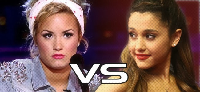 ariana vs demi