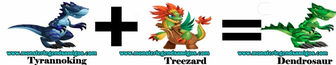 como obtener el dendrosaur en monster legends formula 3