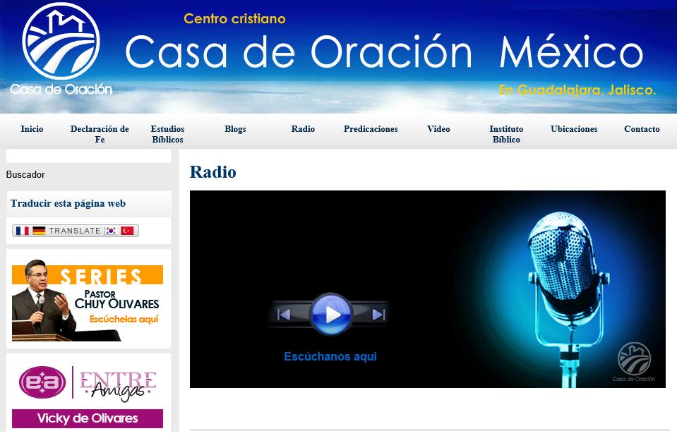 CASA DE ORACION RADIO