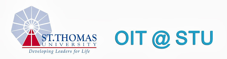 OIT Blog at St. Thomas University STU
