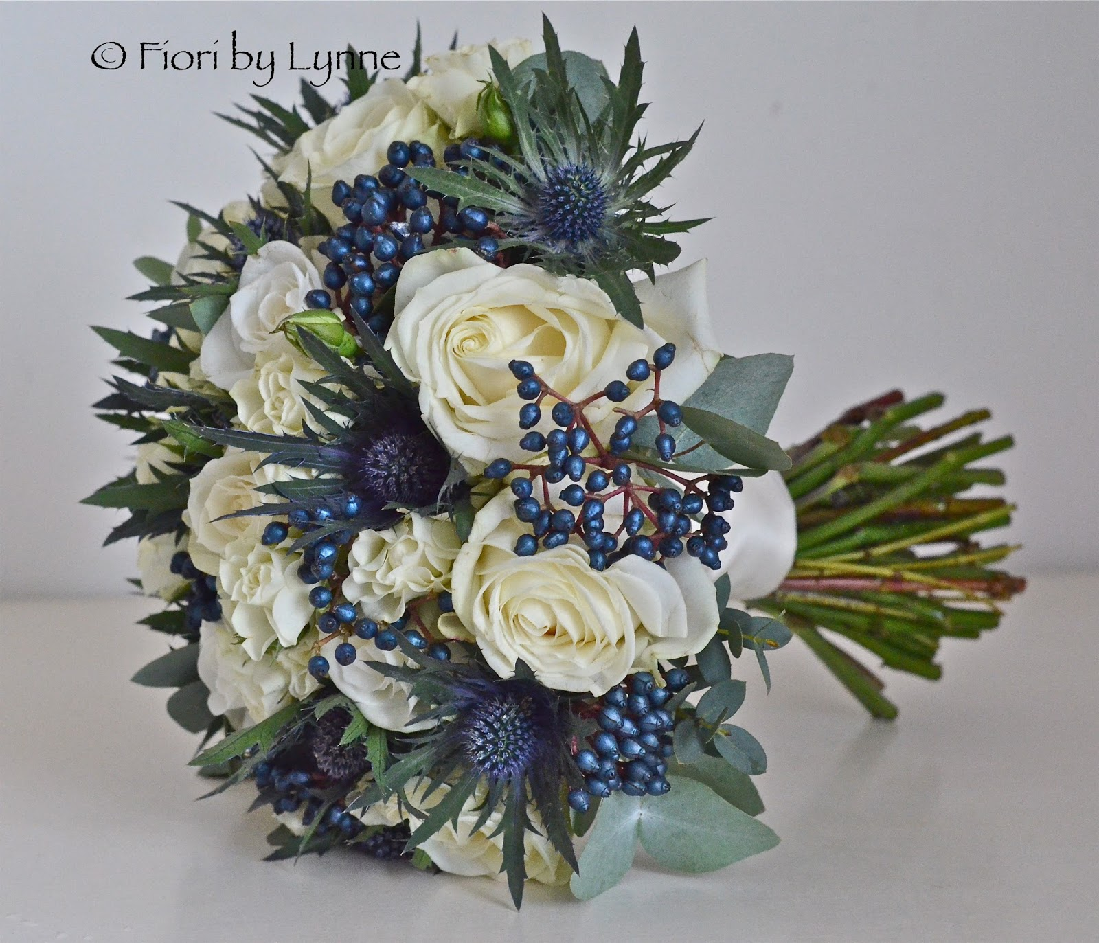 Wedding Flowers Blog: Nina\'s Winter Wedding Flowers, Scottish ...