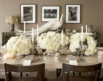 here are a plethora of tablescapes that have inspired me today