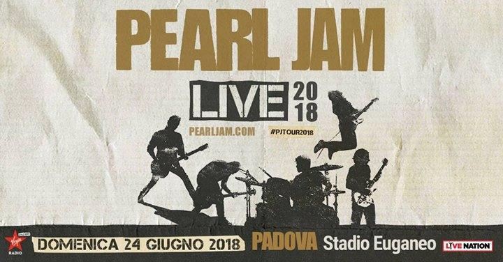 Pearl Jam - Padova 24.06.2018