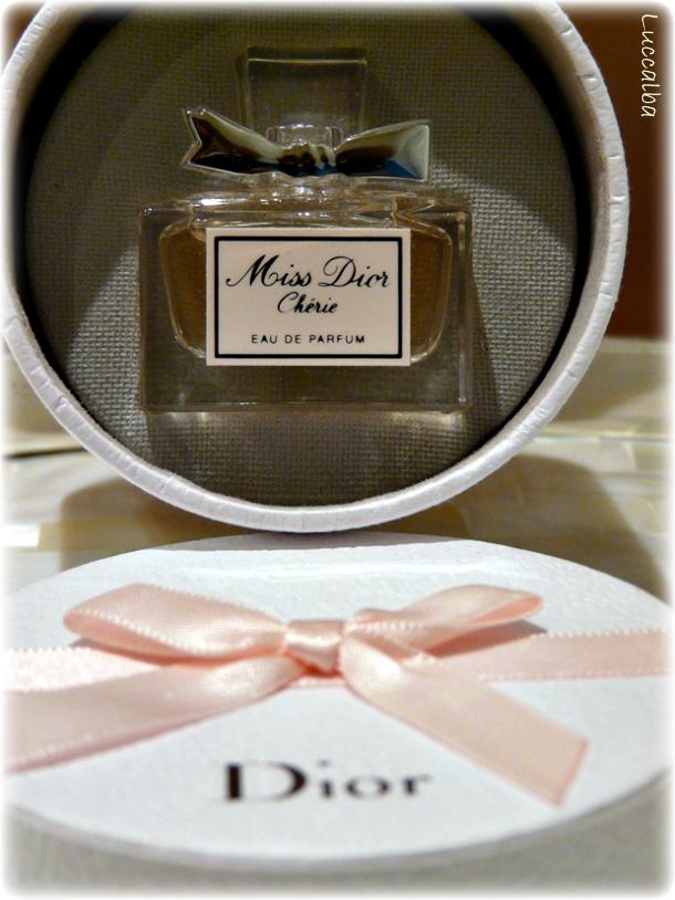 miniatura, Miss Dior Chérie, eau de Parfum