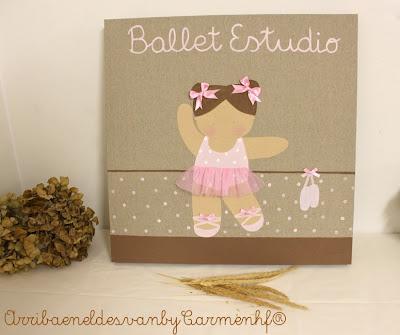 cuadros de ballet para niña