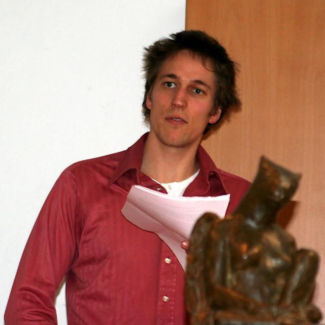 Christian Lollike modtager Kafkat 2007