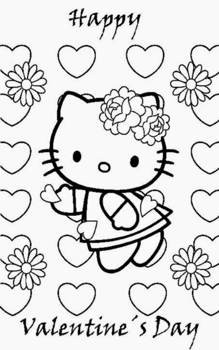 Free valentine coloring sheets free coloring sheet for Free printable valentine day coloring pages