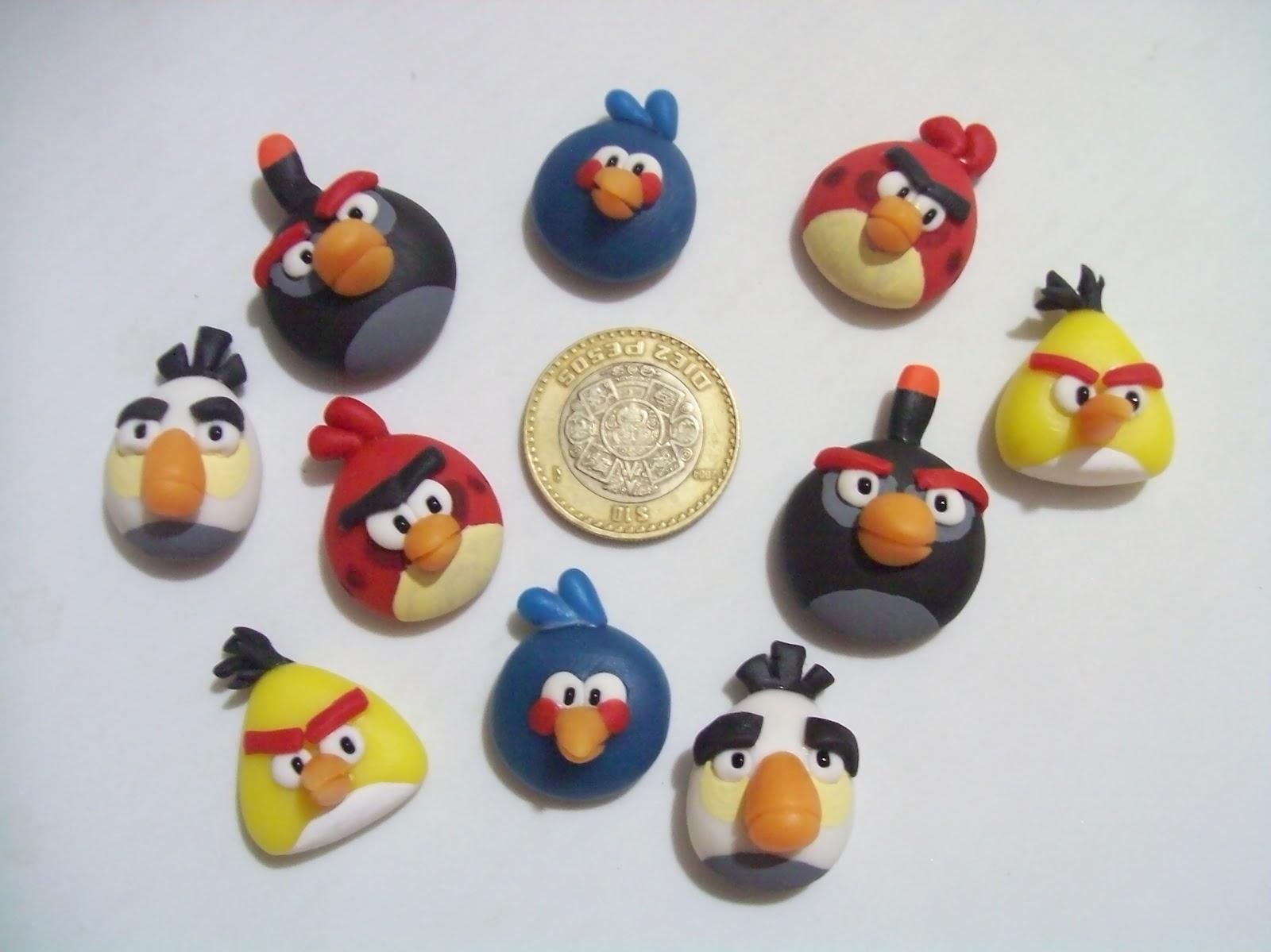 Angry Birds    En Pasta Francesa Con Im  N Para Refri