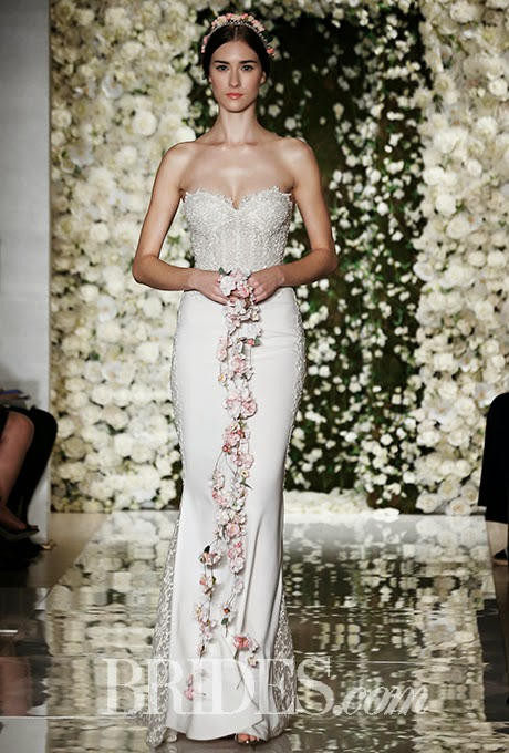 2015 Wedding Dresses: Reem Acra, Fall 2015 Bridal Collection
