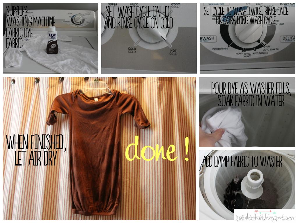 does rit dye stain washing machine