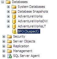 Cara Mudah Memperbaiki Database Suspect MS SQL