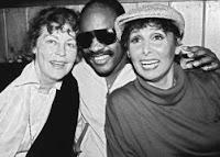 Ava Gardner, Stevie Wonder & Lena Horne (1984)
