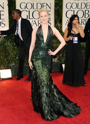 Las mejor vestidas de los Globos de Oro 2012