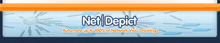 NetDepict- Automate Up To 100% Of Network Visio Drawings