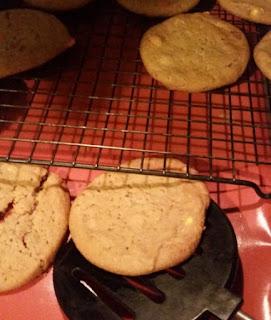 cookies on cookina baking sheet 3