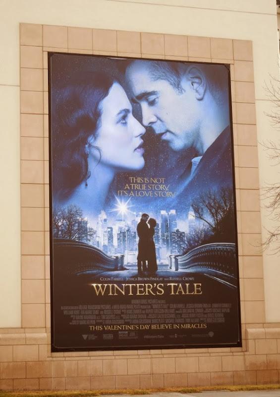 Winter's Tale movie billboard